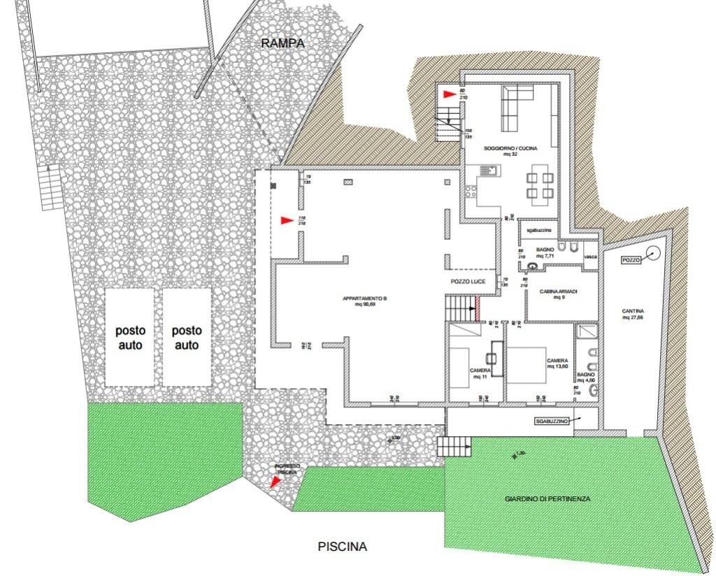 Casa facile agenzia immobiliare ad ospedaletti studio for Planimetrie della coperta